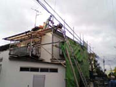 屋根葺き替え工事 屋根 リフォーム 東京