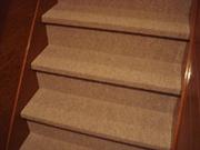 床 リフォーム 京都 階段用カーペット